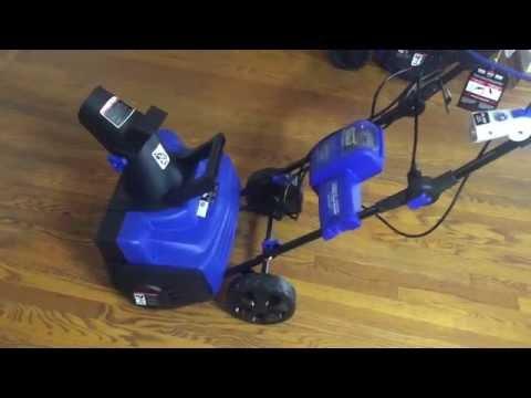 Snow Joe iON 18SB-HYB Hybrid Cordless Snow Blower w ...