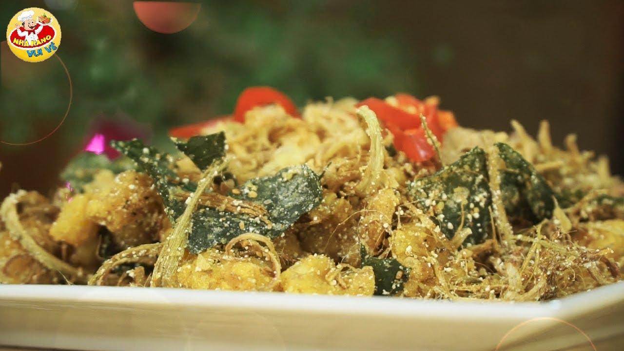Món Ăn Ngon Dễ Làm #8: SỤN GÀ RANG MUỐI  – 10 Người Xem Thì Cả 10 Thèm Chảy Nước Miếng