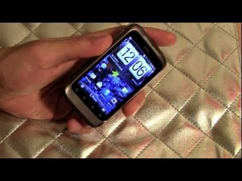 HTC Wildfire S Unboxing and Quick review feat  Galaxy PoP and Incredible S