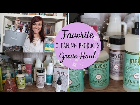GROVE COLLABORATIVE HAUL | FAVORITE ALL NATURAL CLEANERS