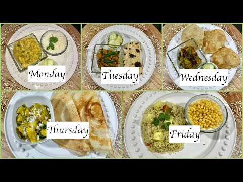 Monday To Friday Indian Summer  Dinner Recipes | Quick  Dinner Ideas | Simple Living Wise Thinking