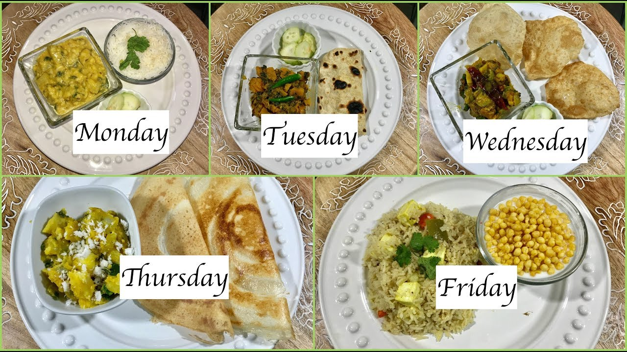 monday to friday indian summer dinner recipes quick dinner ideas