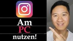 Instagram am PC nutzen - Instagram Bilder am PC hochladen