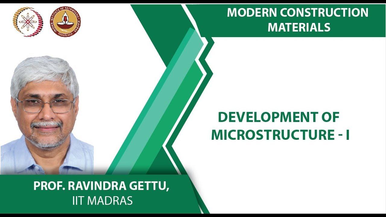 Development of Microstructure - I