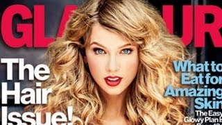 Taylor Swift Covers 'Glamour' November 2012