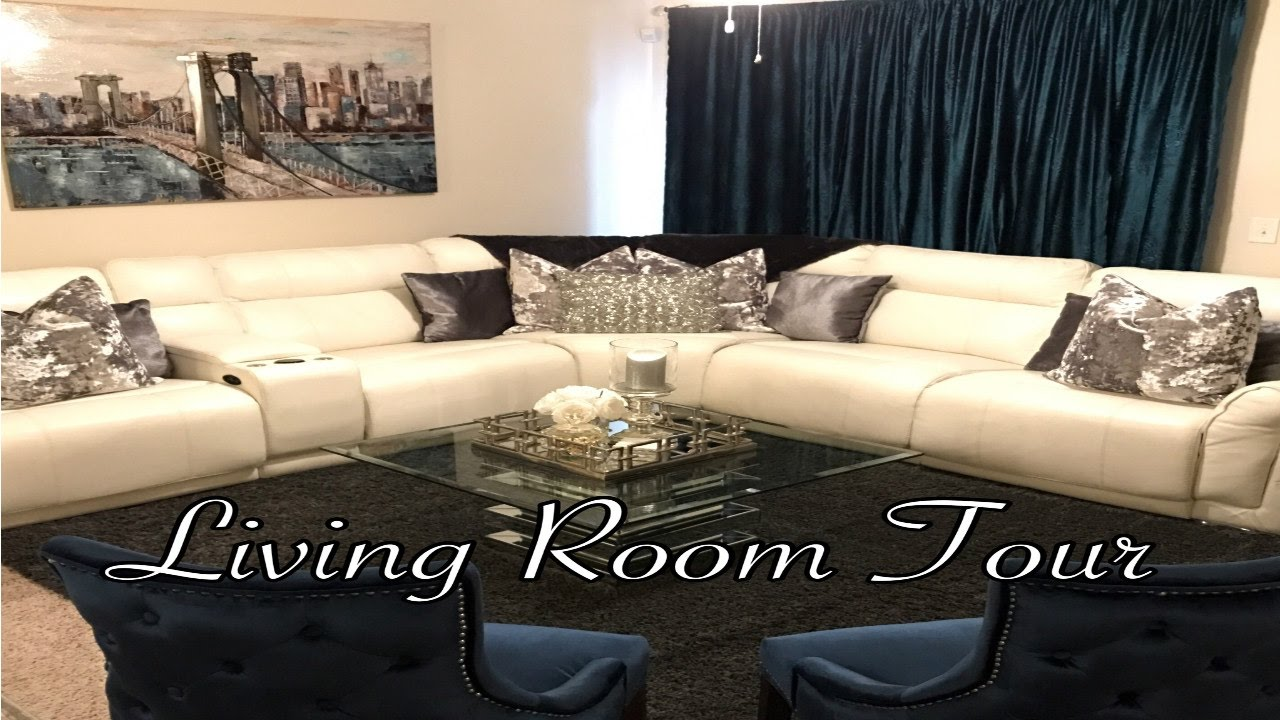 Living Room Tour 2017 Youtube
