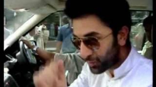 Rabir Kapoor in a Mumbai Local