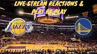 Golden State Warriors Vs. Los Angeles Lakers Preseason Live Stream Play By Play & Reactions
