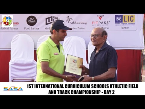 1ST INTERNATIONAL CURRICULUM SCHOOLS ATHLETIC FIELD  & TRACK CHAMPIONSHIP - DAY 2