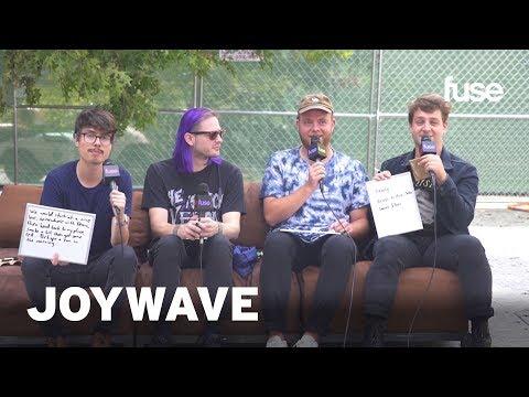 Joywave Take Fuse's BFF Quiz   Music Midtown 2017