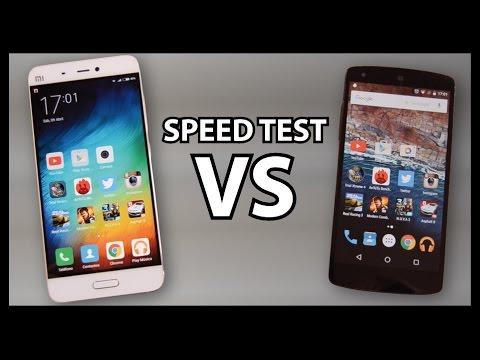 Xiaomi Mi5 VS Nexus 5 - Speed Test SORPRENDENTE !!