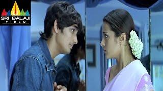 Nuvvostanante Nenoddantana Movie Siddhartha & Trisha First Meet | Sri Balaji Video