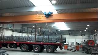 Кран мостовой двухбалочный для предприятия SCR Stahlcenter Riesa(Кран мостовой двухбалочный 2 х 2,5 тонн для предприятия SCR Stahlcenter Riesa. Кран оснащен магнитной траверсой для..., 2013-11-01T14:53:44.000Z)