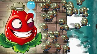 Plants Vs Zombies 2: New Plant Strawburst Powerup