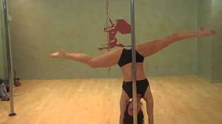 Fit For a Goddess pole dancing workshop with Jenyne Butterfly