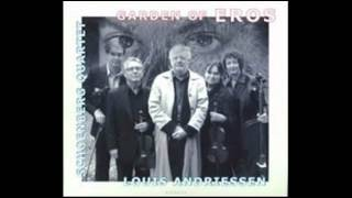 Louis Andriessen. Facing Death, for string quartet