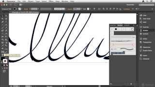 Illustrator CC Kaligrafik fırça oluşturma