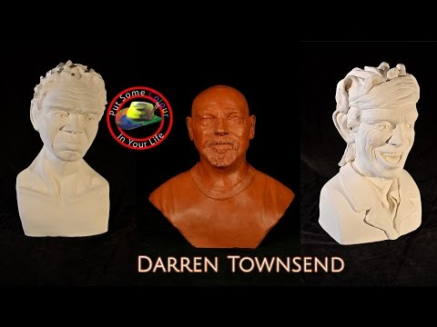 Art tips with Free Sculpture Tutorial with Darren Townsend on Colour In Your Life