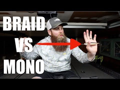 Braid Vs Mono For Topwater Lures?!?