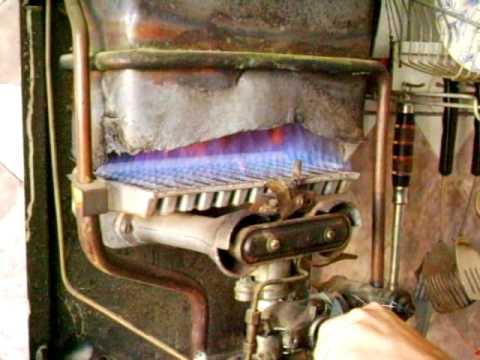 Проточный газовый