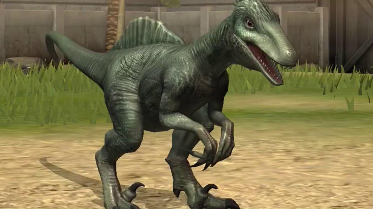 Jurassic World The Game Spinoraptor