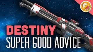 DESTINY Super Good Advice Exotic Review OP (PS4 Gameplay Commentary) Funny Moments