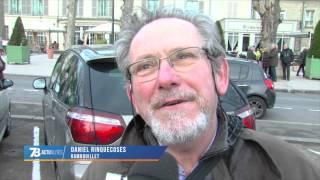 """""""Je suis Charlie"""" : 10 000 personnes dans la ville de Gérard Larcher"""