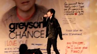 Greyson Chance @ Sri KDU - Unfriend You