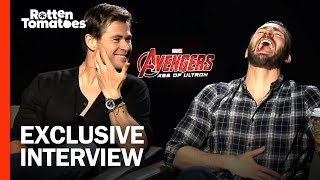 Avengers: Age of Ultron Interview: Chris Hemsworth & Chris Evans