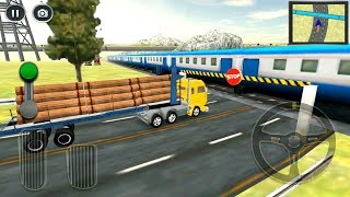 Transporter Truck Simulator 3D - Wood & Cars Transportation - Android Gameplay FHD screenshot 5