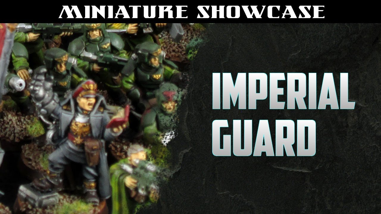e530bd224a Blog - Imperial Guard army, basic level