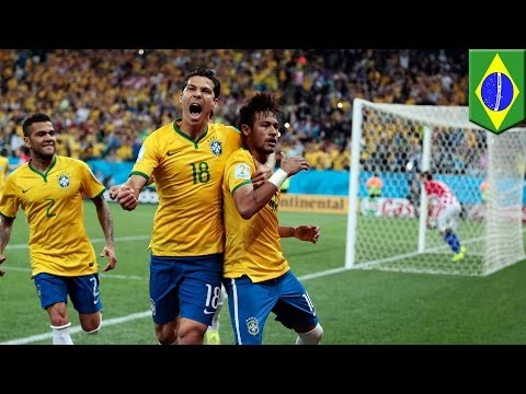 Brazil 3 Croatia 1: Hosts win World Cup 2014  game, just about