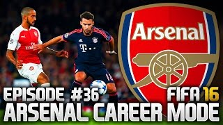 FIFA 16: ARSENAL CAREER MODE #36 - BAYERN AT HOME!