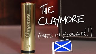 The CLAYMORE Mech, MADE IN SCOTLAND!