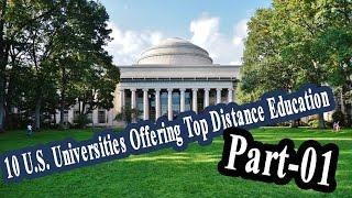 10 U S  Universities Offering Top Distance Education Part 01