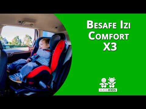 Детское автокресло Besafe Izi Comfort X3 ISOfix (группа 1)