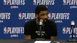 Kyrie Irving Postgame Interview - Game 4 | Celtics vs Pacers | 2019 NBA Playoffs