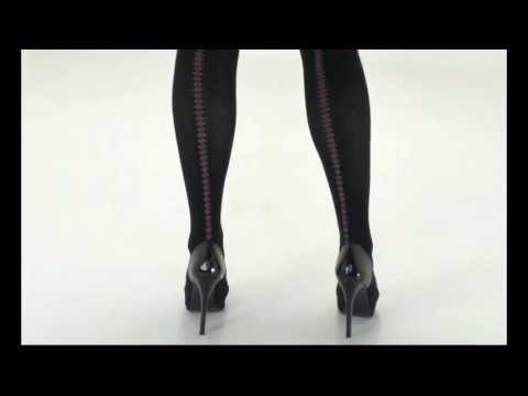 UK Tights - Pretty Polly Fairisle Backseam Tights