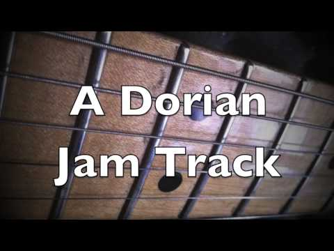 Dorian Mode GROOVE Backing Track (Am)