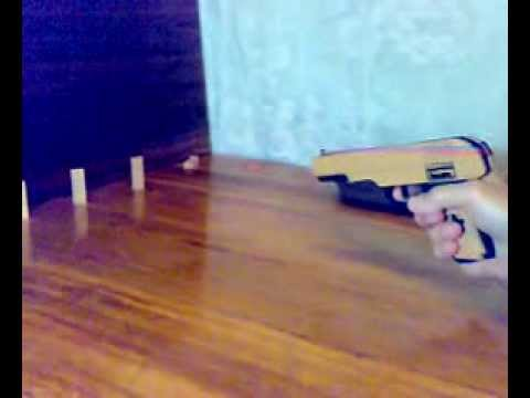 Пистолет ТТ из дерева для
