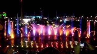 Лазерное шоу для Орифлэйм. Сочи парк