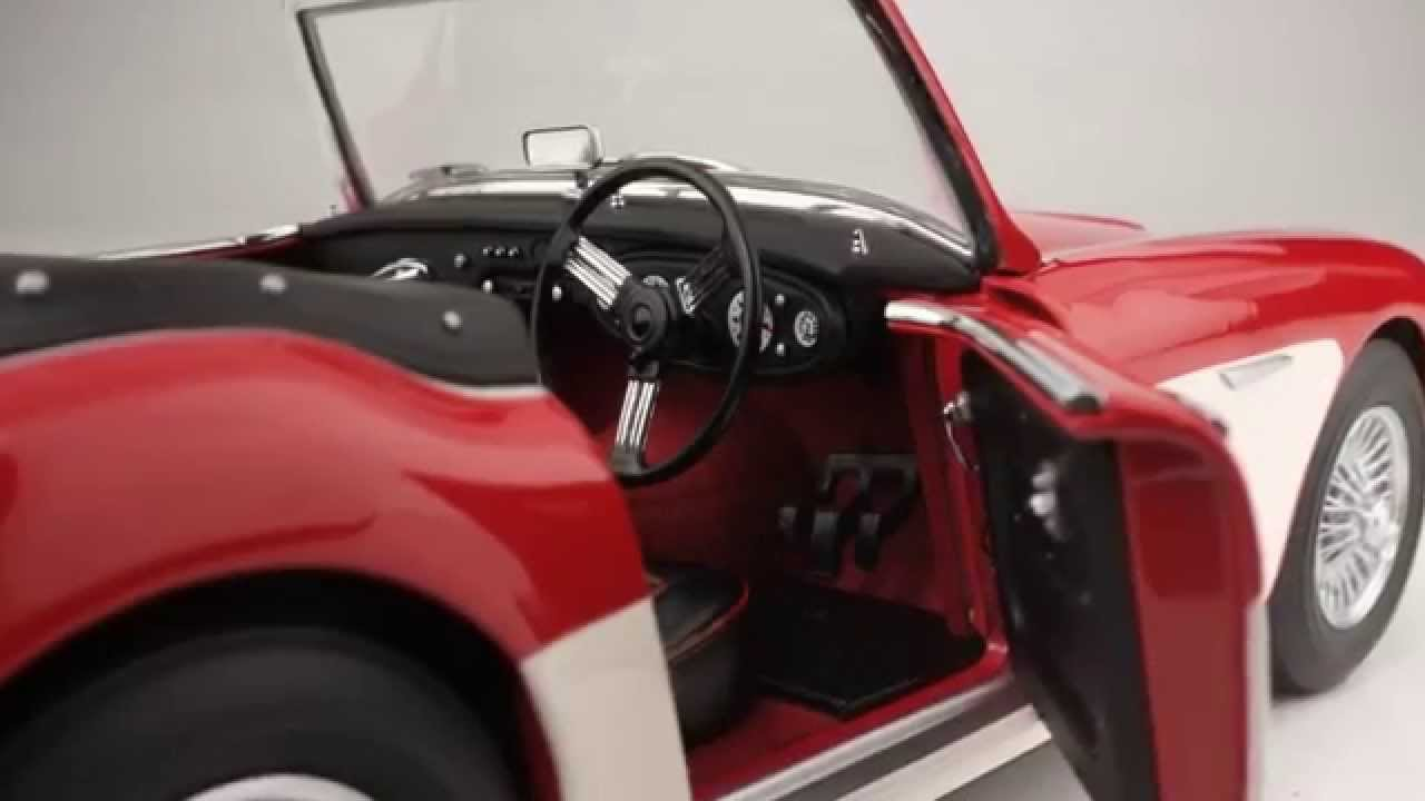 Kyosho Austin Healey 3000 Mk1 Model Car Youtube