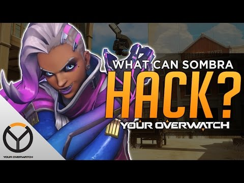 Overwatch: Everything Sombra CAN & CAN'T Hack