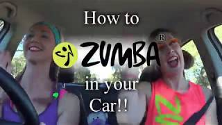 Zumba® in your Car with Cat & Christel (5min clip compilation)