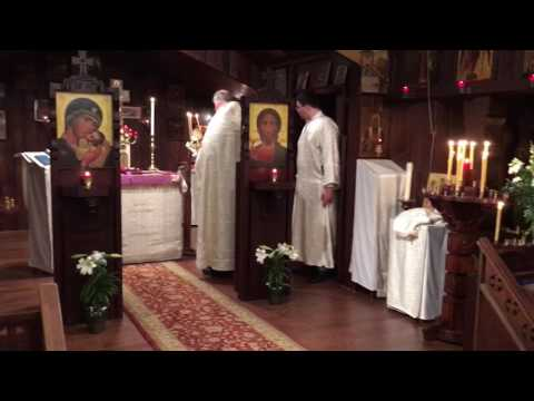 Pascha Celebration 2017 - Church choir singing