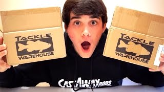 DOUBLE TACKLEWAREHOUSE UNBOXING?!?! - Bass Fishing Lures