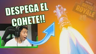 Reaccionando al DESPEGUE del COHETE!! - FORTNITE