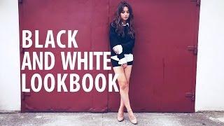 Black & White Lookbook - [ Weronika Załazińska ]