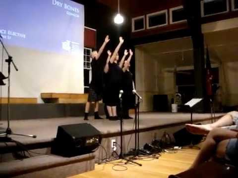 """Dry Bones"" National Music Camp 2015"