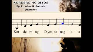 I07a Kordero ng Diyos - by Fr. Allan B. Antonio (Soprano)